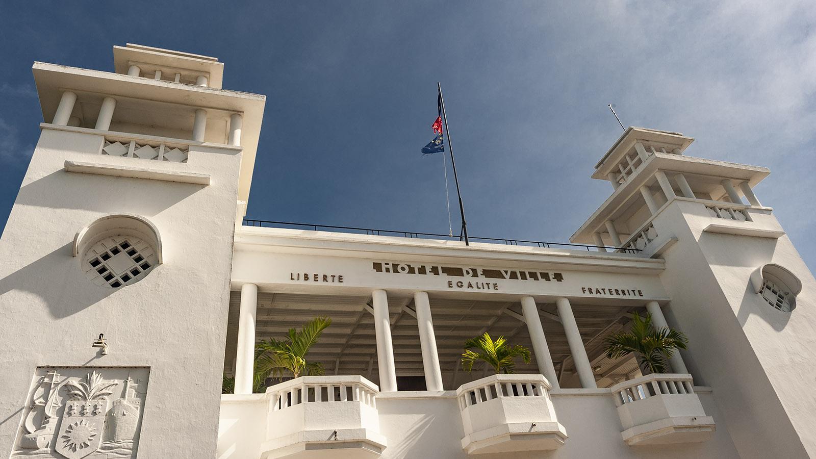 Marie-Galante: Das Rathaus von Grand-Bourg hat Ali Tur erbaut. Foto: Hilke Maunder
