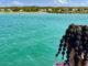Marie-Galante: Blick auf die Belle-Île-En-Mer vom Oberdeck der Fähre. Foto: Hilke Maunder