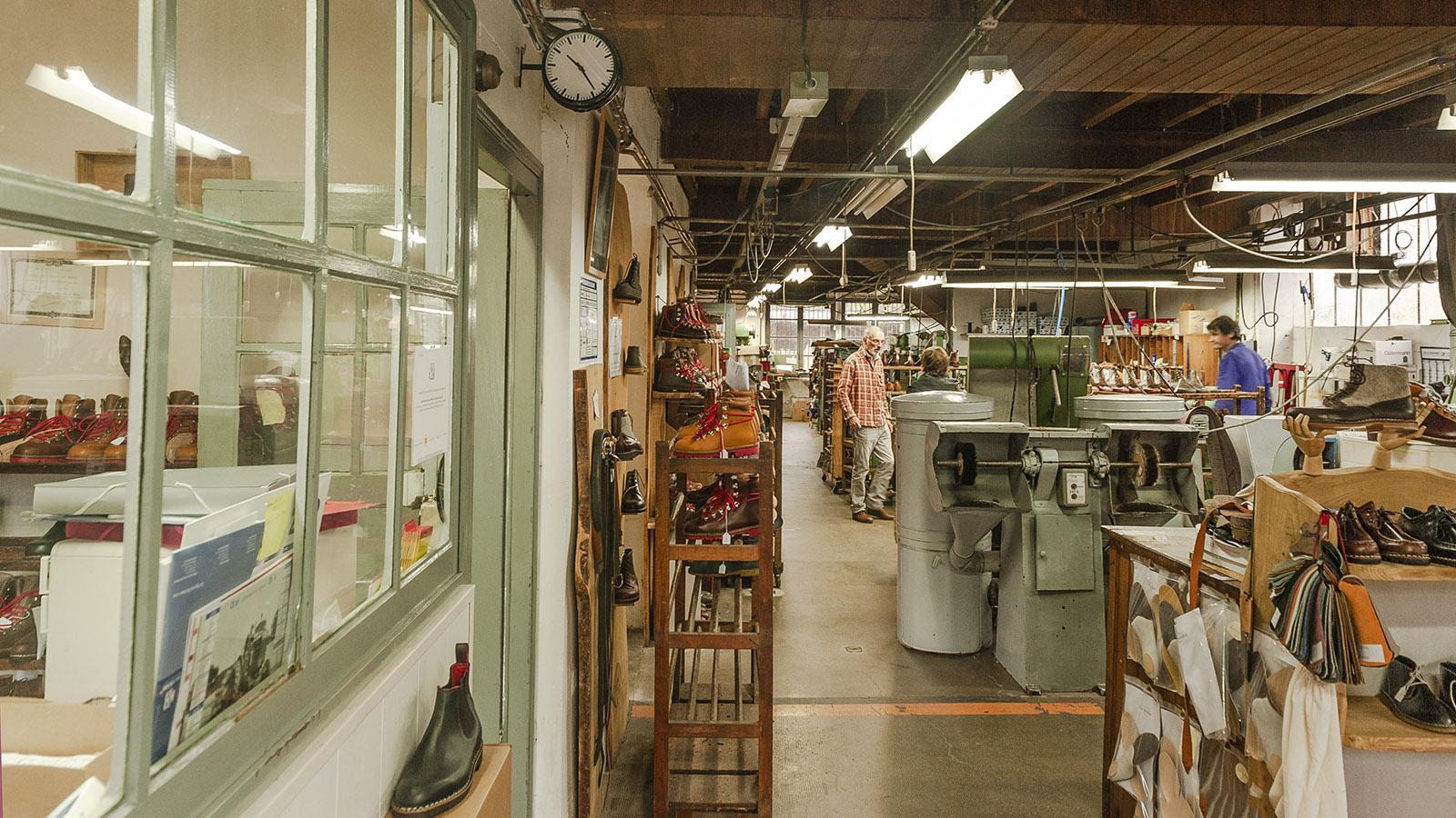 Le Soulor: die Werkstatt. Foto: Hilke Maunder
