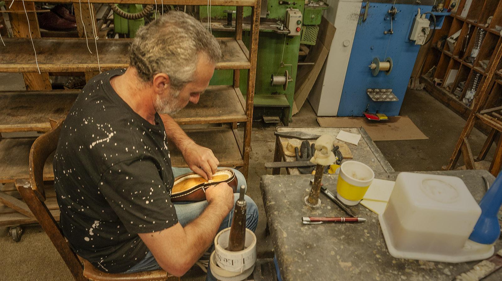 Le Soulor: In der Werkstatt. Foto: Hilke Maunder