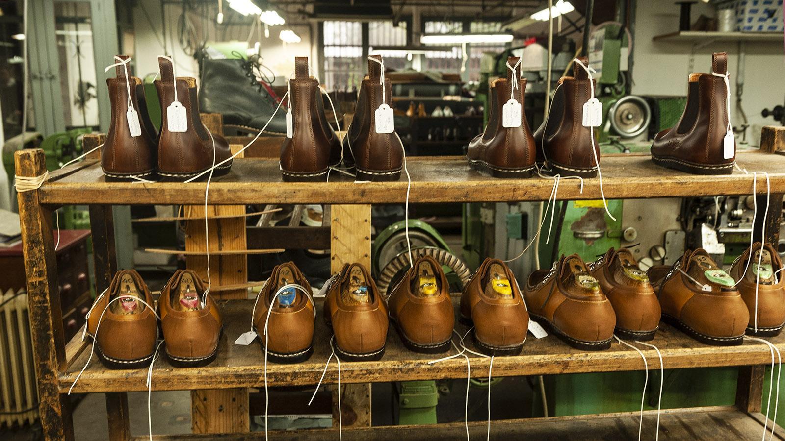 Le Soulor: Schuhfertigung