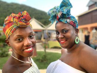 Guadeloupe: Die Zipfel der Haube verraten, ob eine Frau verheiratet ist. Foto: Hilke Maunder