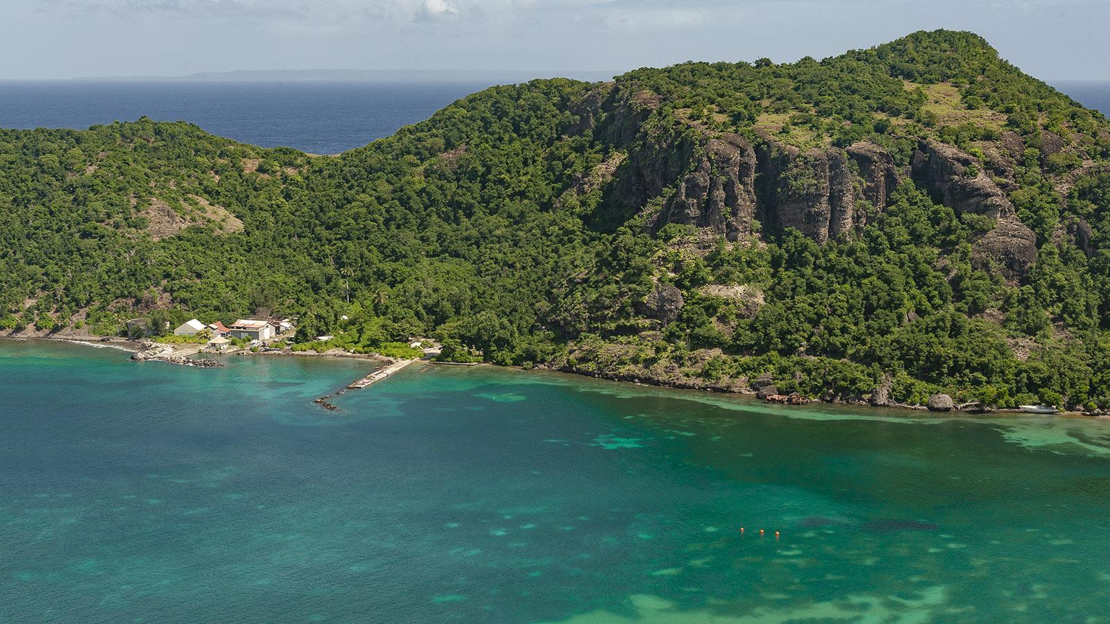 Les Saintes: die Baie du Marigot. Foto: Hilke Maunder
