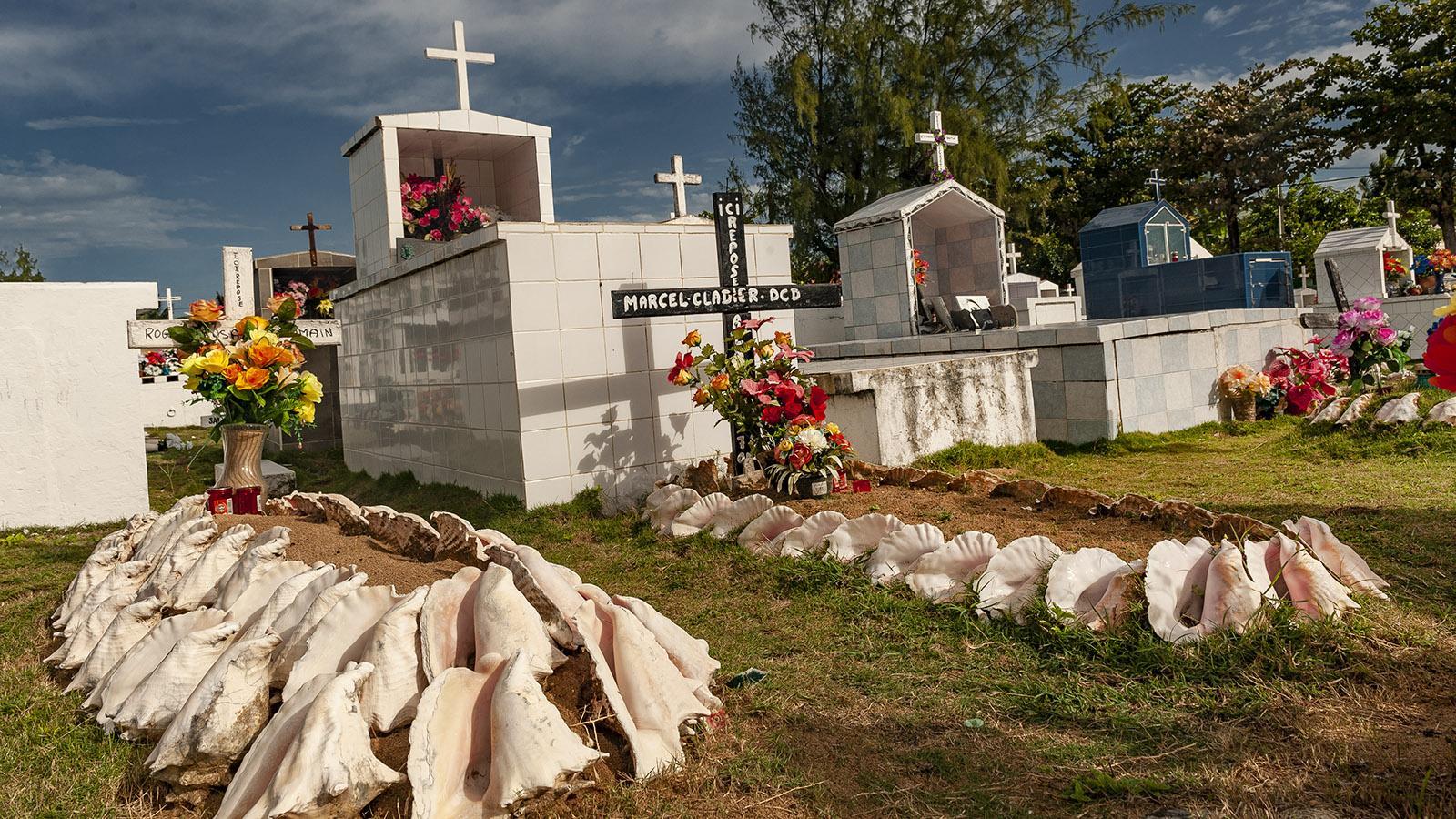 Les Saintes: der Seemannsfriedhof. Foto: Hilke Maunder