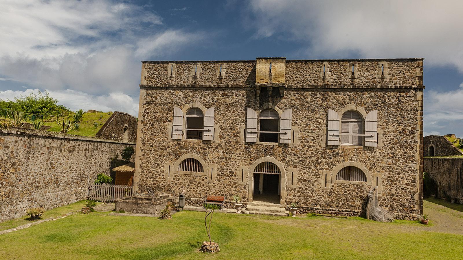 Les Saintes: das Inselmuseum des Fort Napoléon. Foto: Hilke Maunder