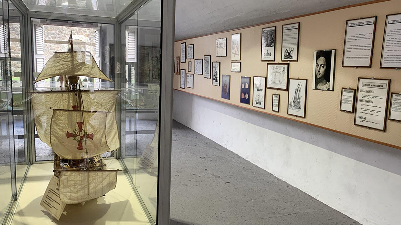 Les Saintes: Das Inselmuseum hält die Seefahrtsgeschichte der Saintes lebendig