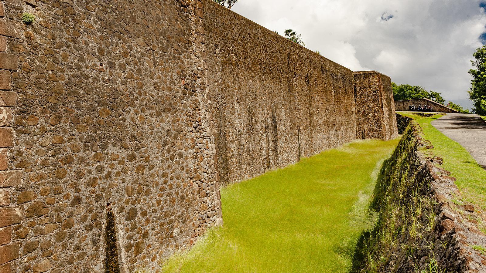 Les Saintes: das Fort. Foto: Hilke Maunder