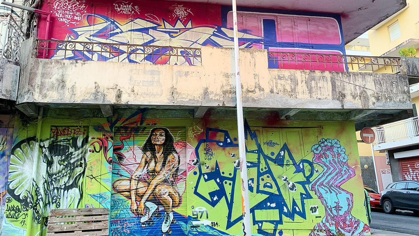 Street Art in Pointe-à-Pitre. Foto: Hilke Maunder