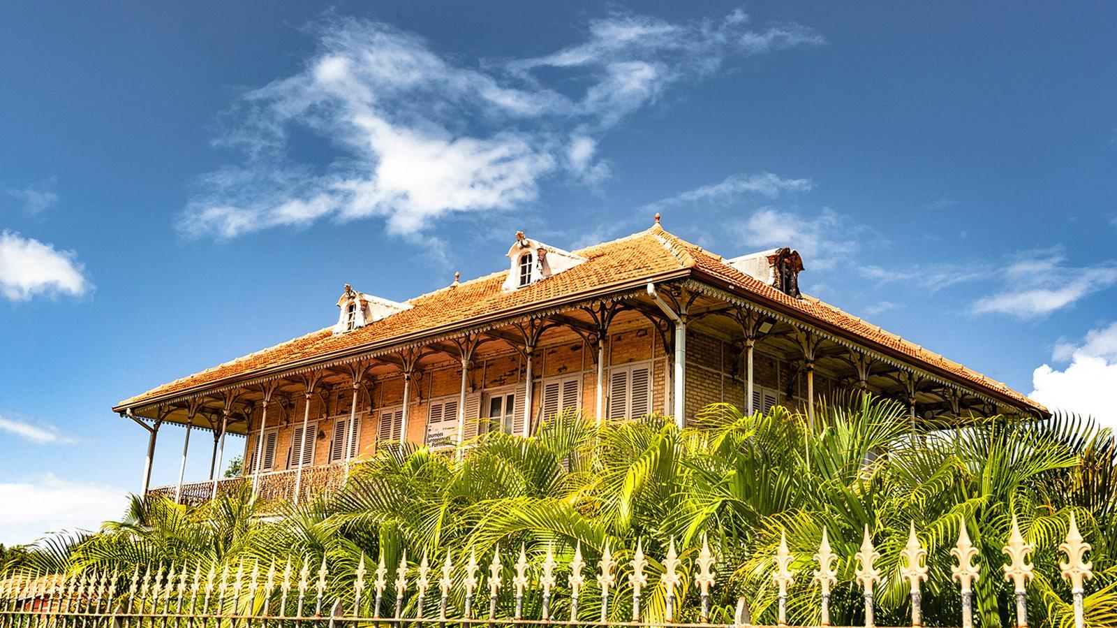 Guadeloupe: Die Maison Zévallos trägt die Handschrift von Gustave Eiffel. Foto: Hilke Maunder