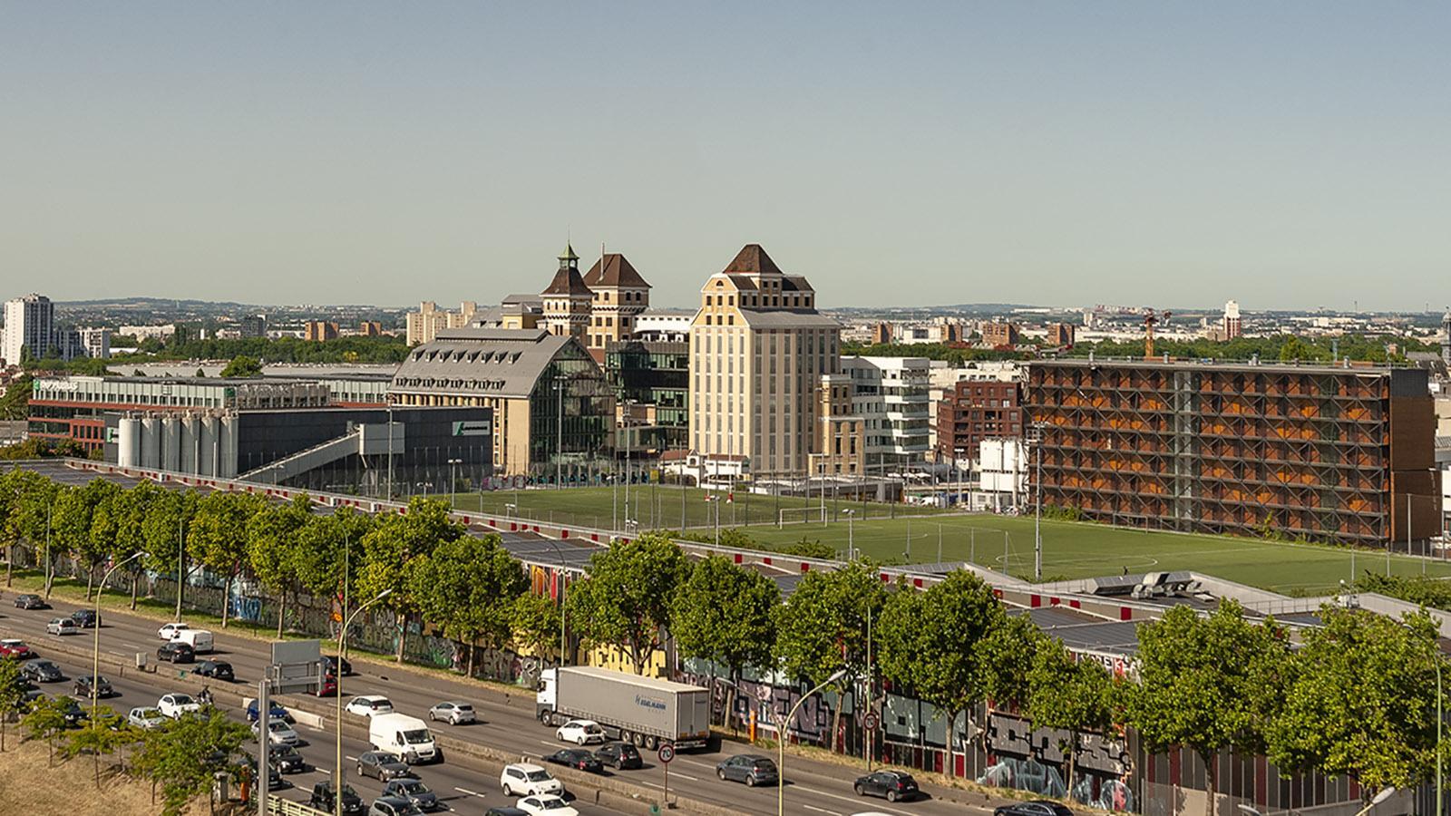 Banlieue de Paris: die Grands Moulins von Pantin. Foto: Hilke Maunder