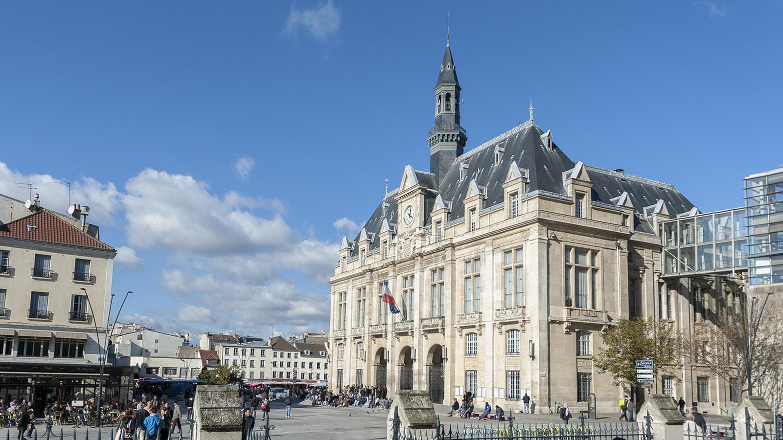 Banlieue de Paris: das Rathaus von Saint-Denis. Foto: Hilke Maunder