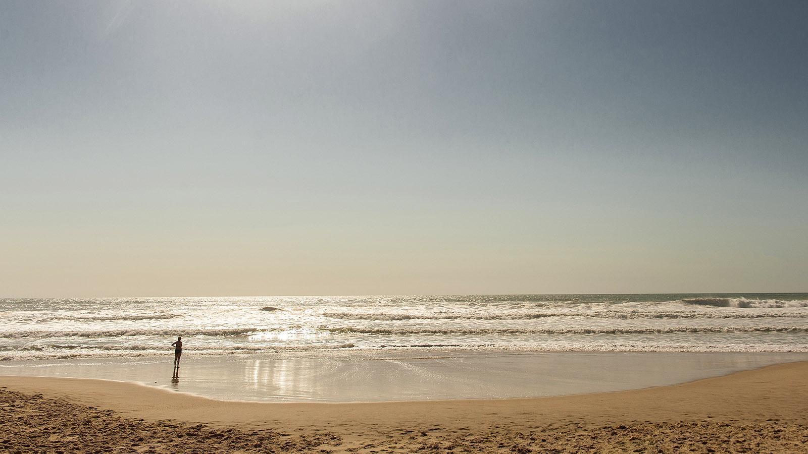 Jakobswege: Der Atlantikstrand bei Carcans