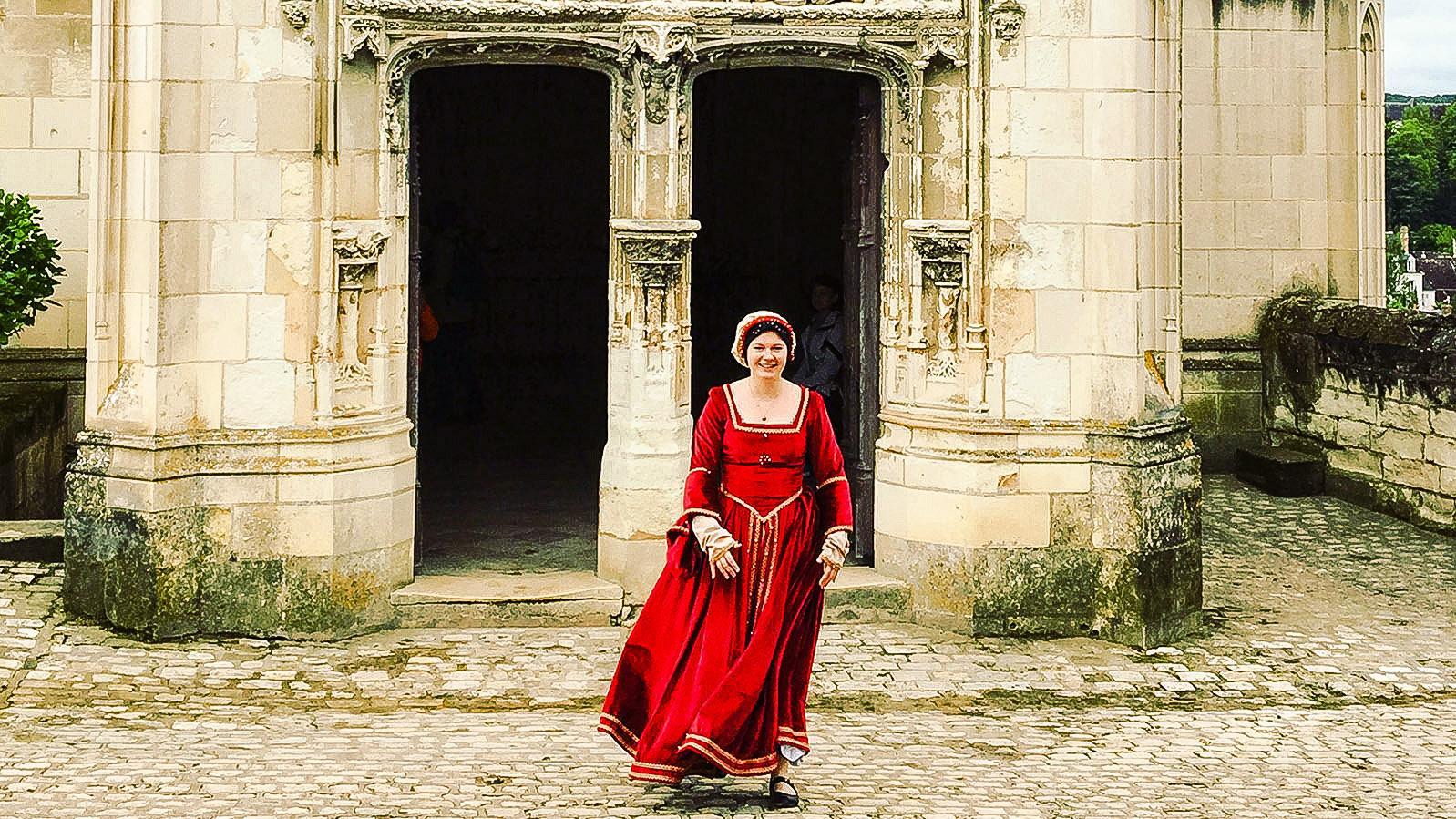 Renaissance-Flair auf Schloss Amboise an der Loire. Foto. Hilke Maunder