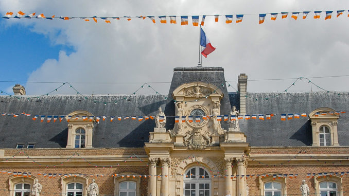 Das Hôtel de Ville (Rathaus) von Amiens in der Heimatstadt von Emmanuel Macron. Foto: Hilke Maunder