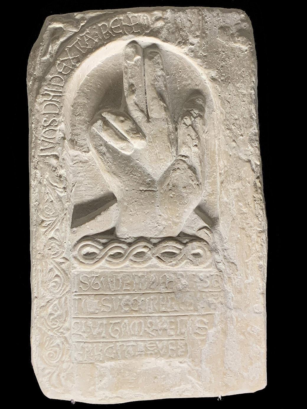Le Maître de Cabestany: die Hand Gottes. Foto: Hilke Maunder