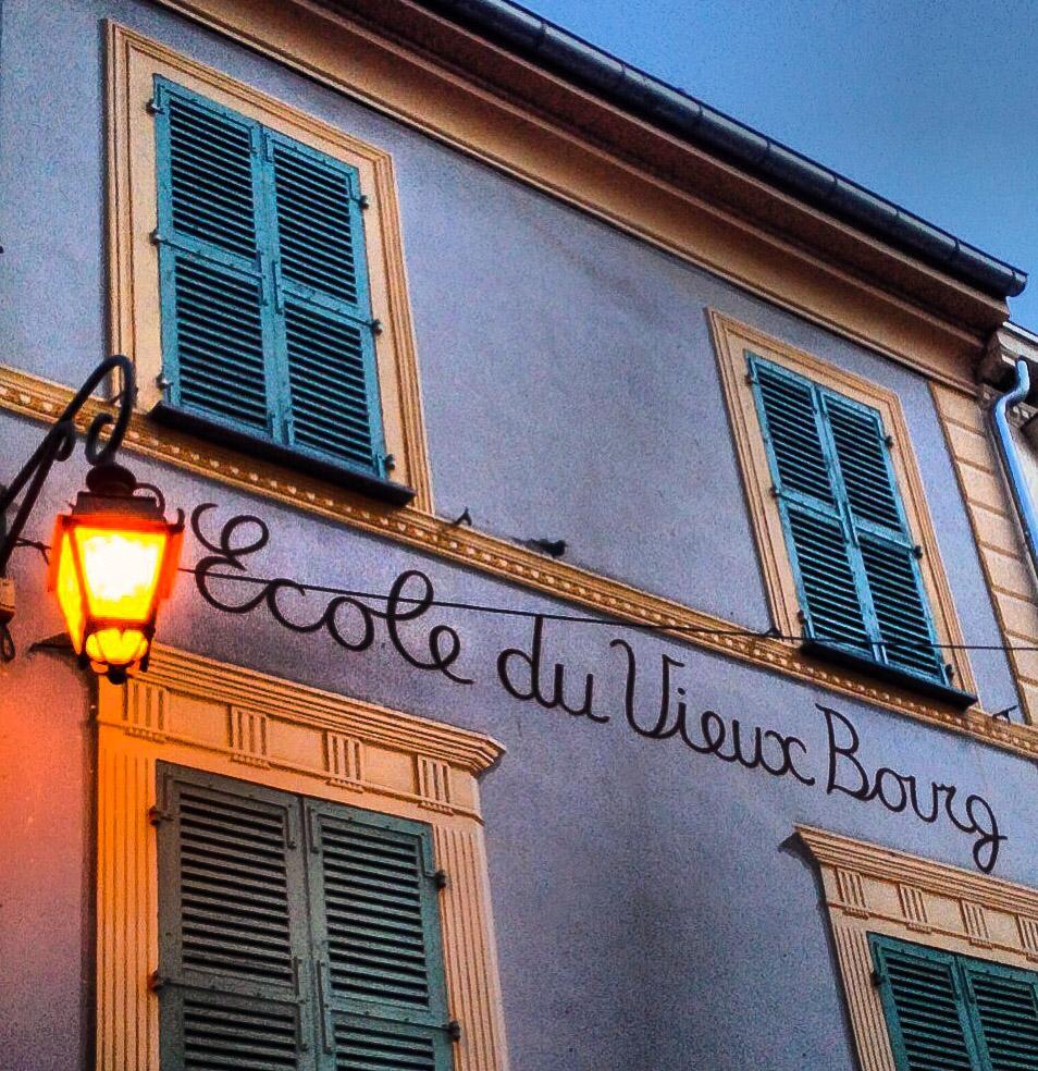 Die alte Schule von Haut-de-Cagnes. Foto: Hilke Maunder