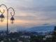 Haut-de-Cagnes: Der Abend senkt sich über das Hinterland der Côte d'Azur. Foto: Hilke Maunder