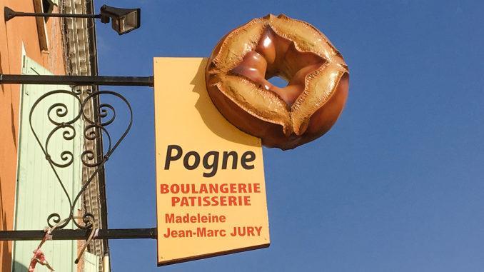 Pogne de Romans - eine Spezialität aus der Drôme.