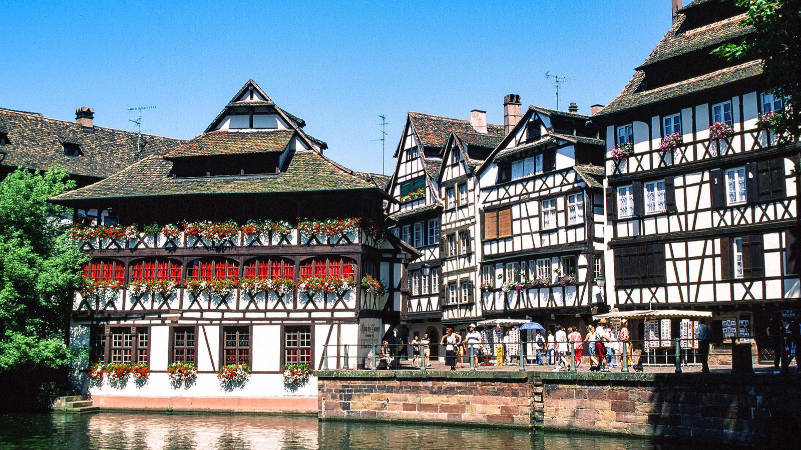 Welterbe: die Altstadtinsel von Strasbourg.