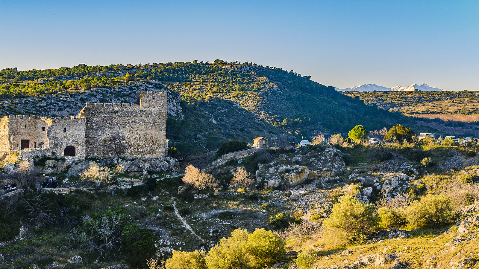 Die Burg von Fitou. Foto Hilke Maunder