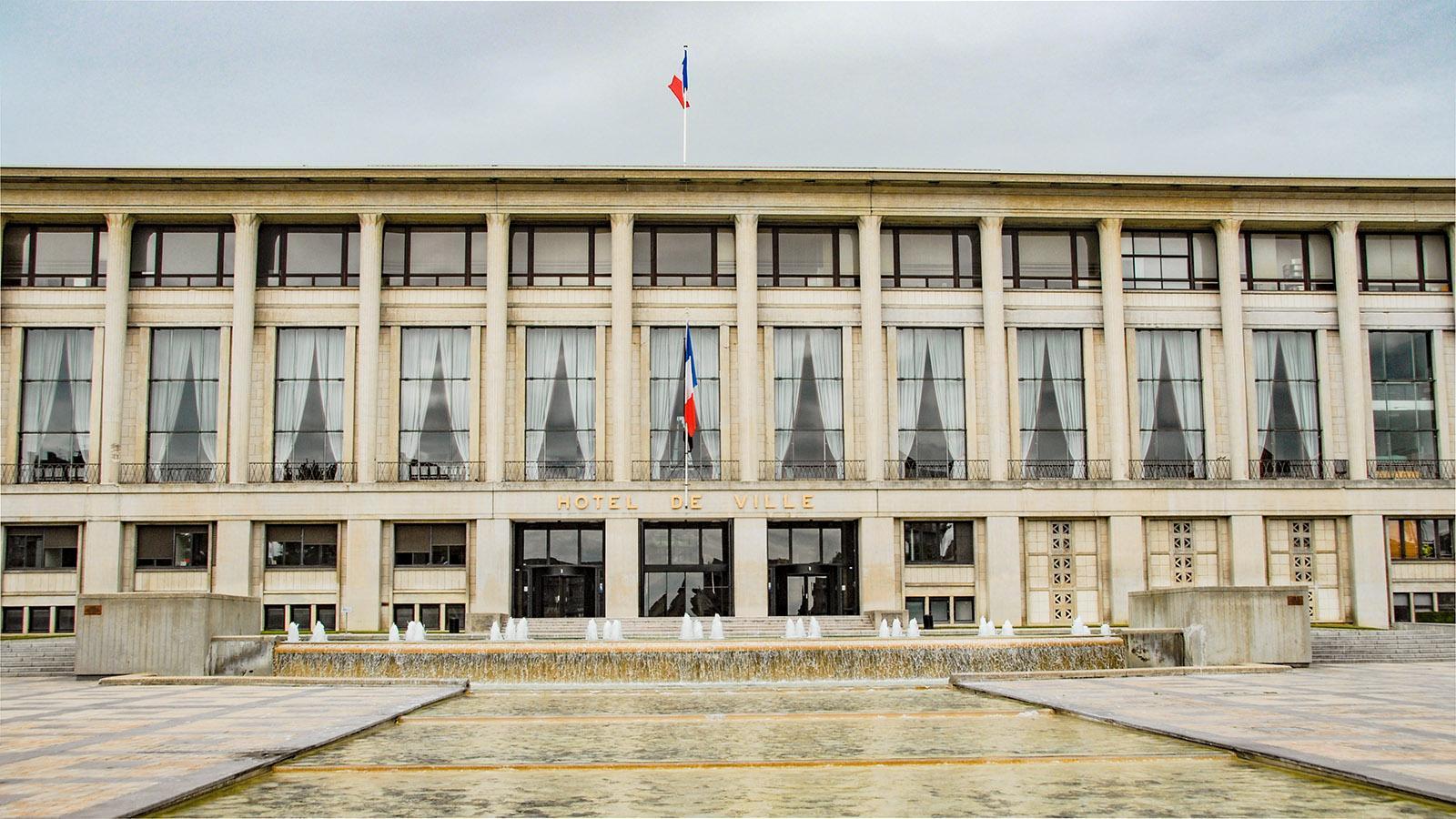Das Rathaus von Le Havre. Foto: Hilke Maunder