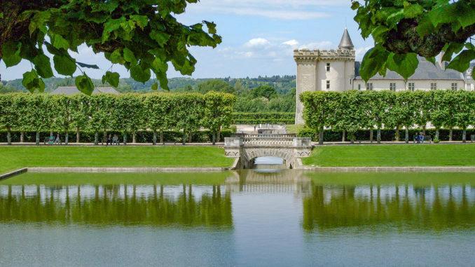 Welterbe: das Loire-Tal der Schlösser. Hier: Schloss Villandry. Foto: Hilke Maunder