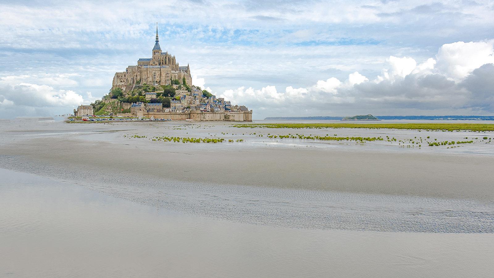 Welterbe: der Mont-Saint-Michel und seine Bucht