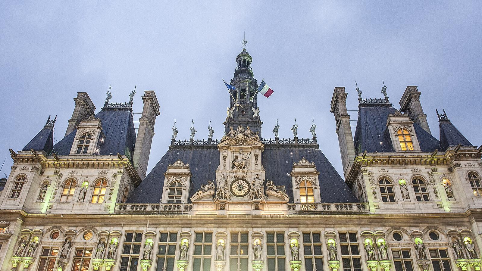 L'Hôtel de Ville: das Rathaus von Paris. Foto: Hilke Maunder