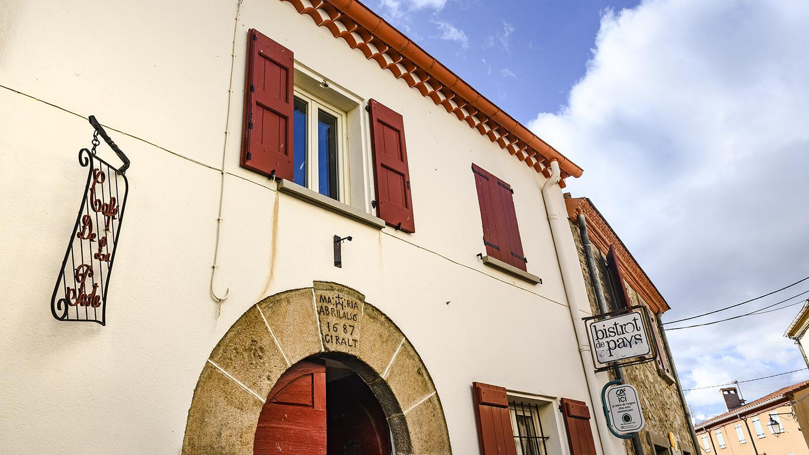 Serralongue: das Bistrot du Pays des Pyrenäendorfes. Foto: Hilke Maunder