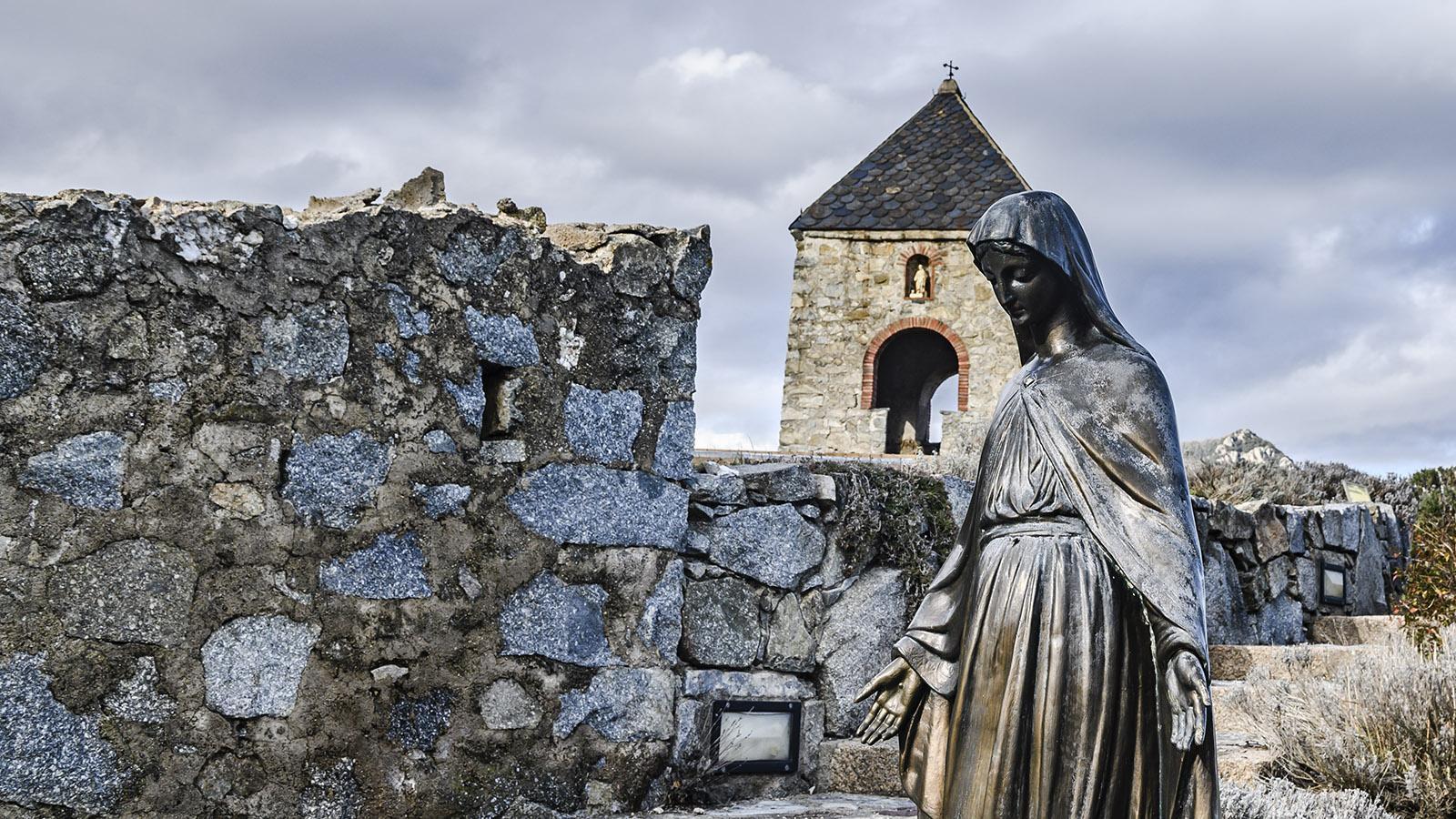 Serralongue: die Madonna des Conjurador. Foto: Hilke Maunder