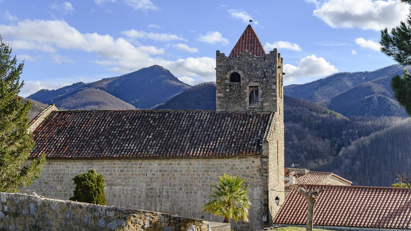 Serralongue: Église Sainte-Marie. Foto: Hilke Maunder