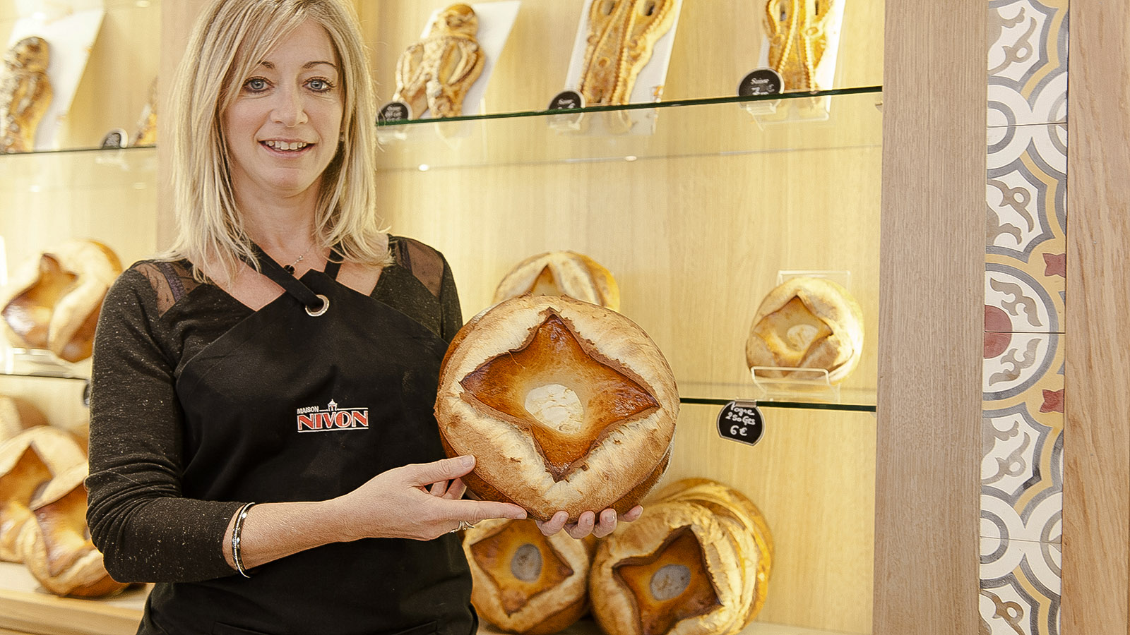 Pogne: Bäckerei Nivon, Valence. Foto: Hilke Maunder