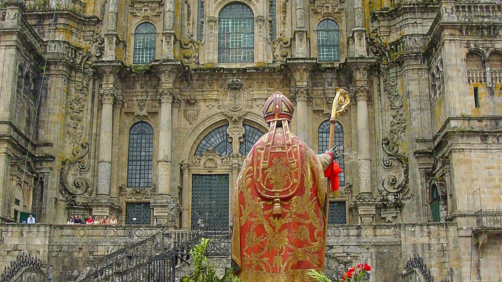 Die Kathedrale von Santiago de Compostela. Foto: Hilke Maunder