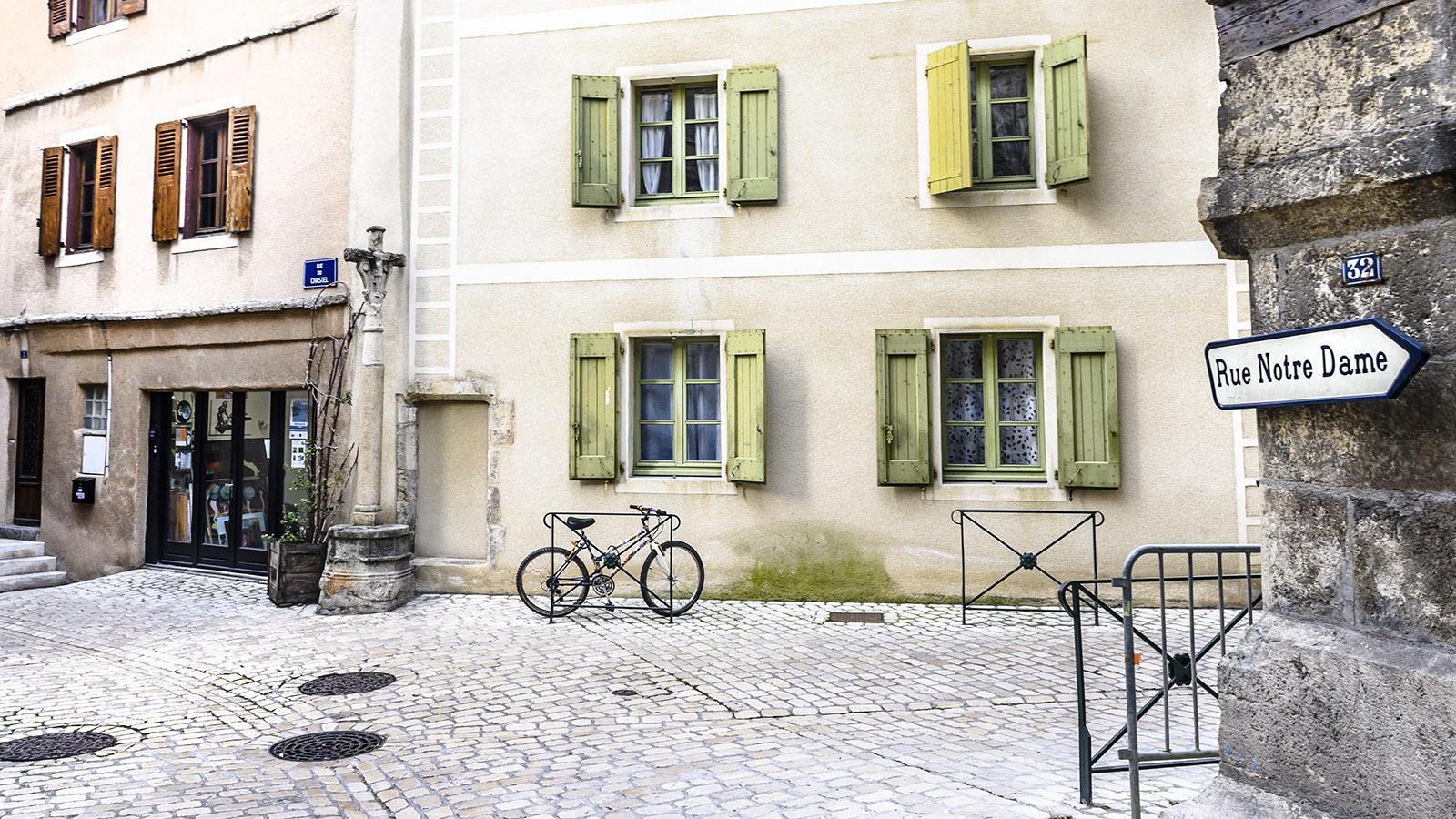 In der Altstadt von Mende. Foto: Hilke Maunder