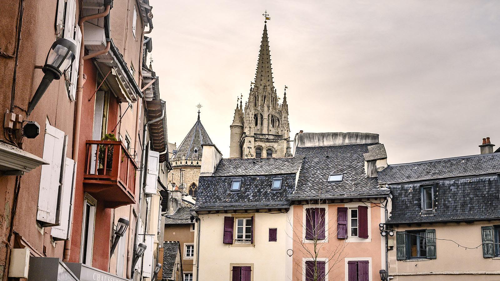 Mende: Altstadt mit Kathedrale. Foto: Hilke Maunder