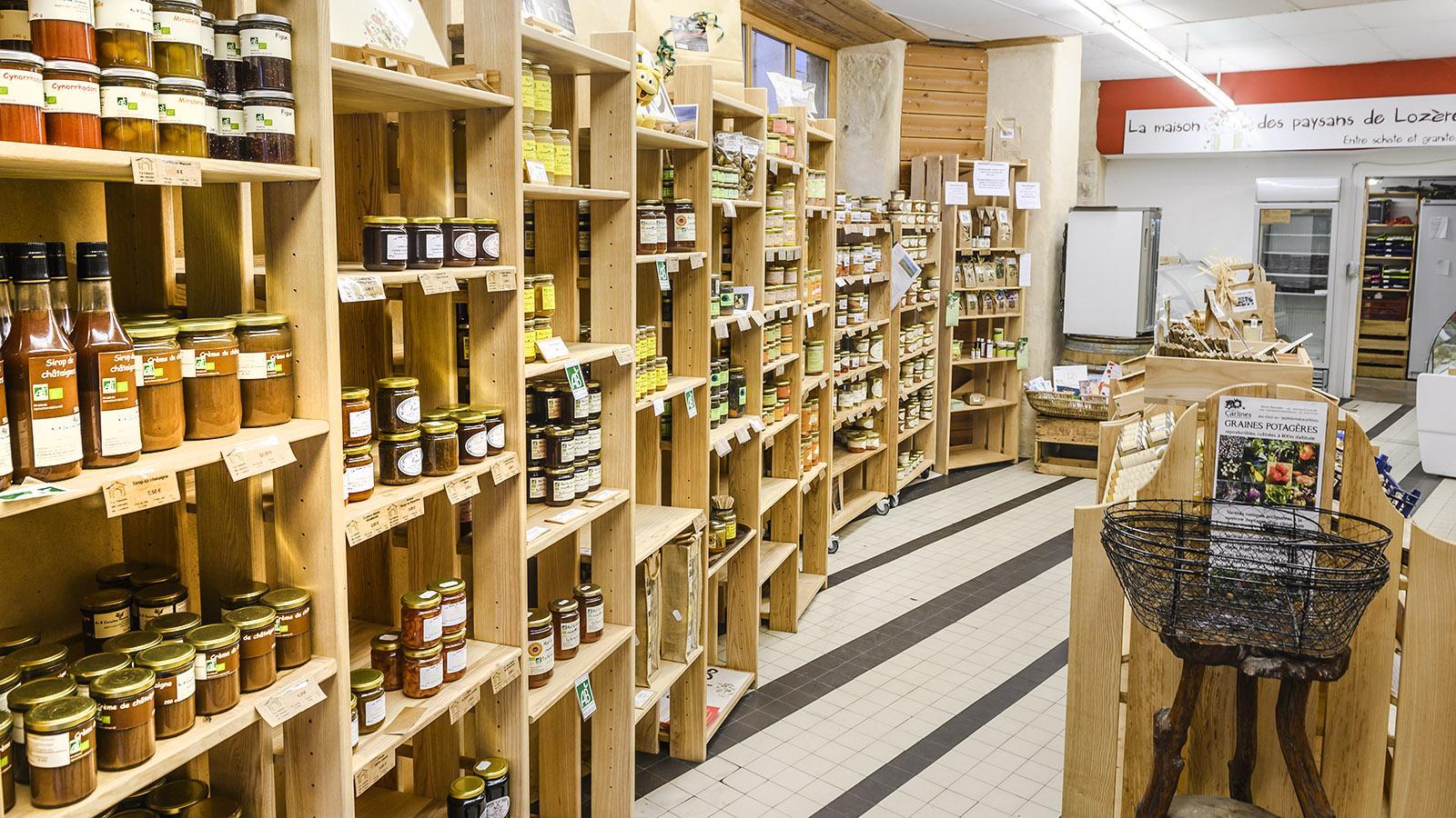 Mende: Das Ladengeschäft der örtlichen Produzenten. Foto: Hilke Maunder