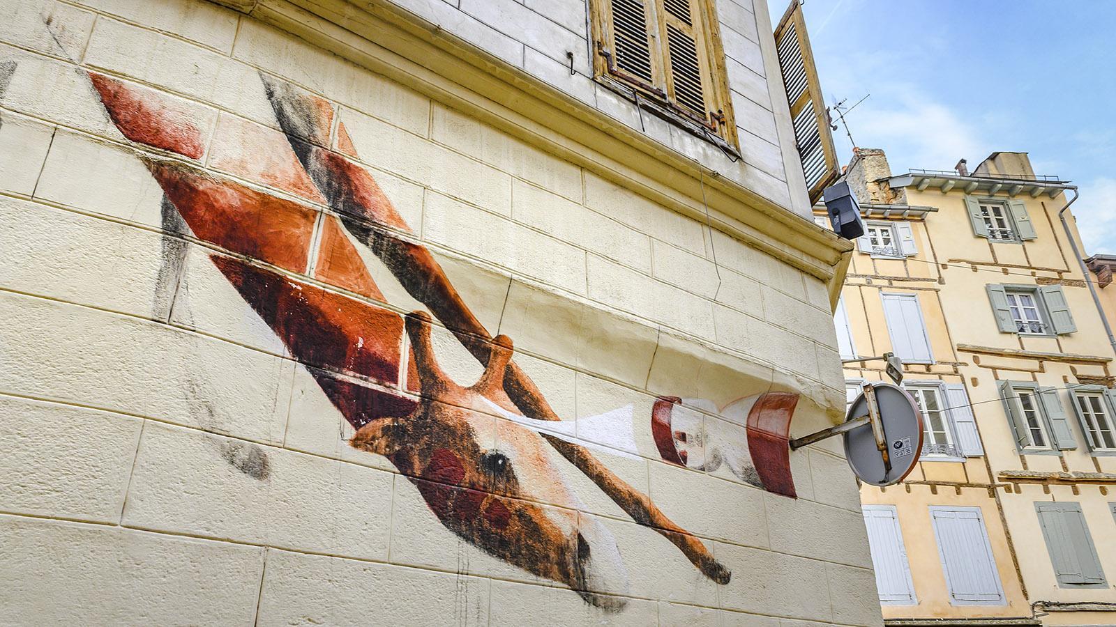 Street Art in Mende. Foto: Hilke Maunder