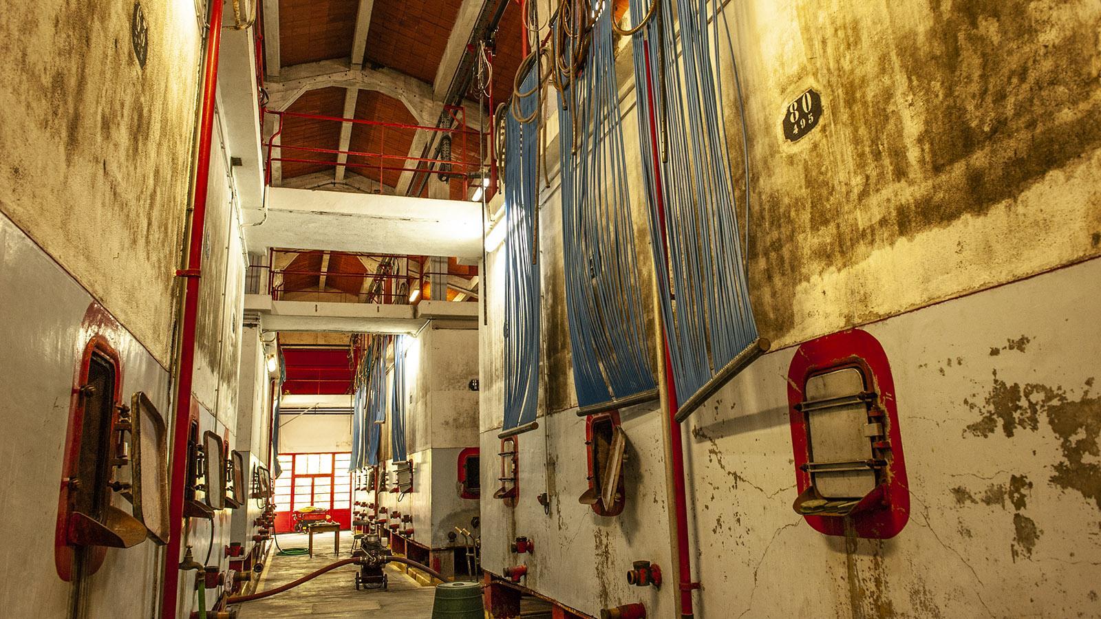 Aspres: die Genossenschaftskellerei von Fourques. Foto: Hilke Maunder