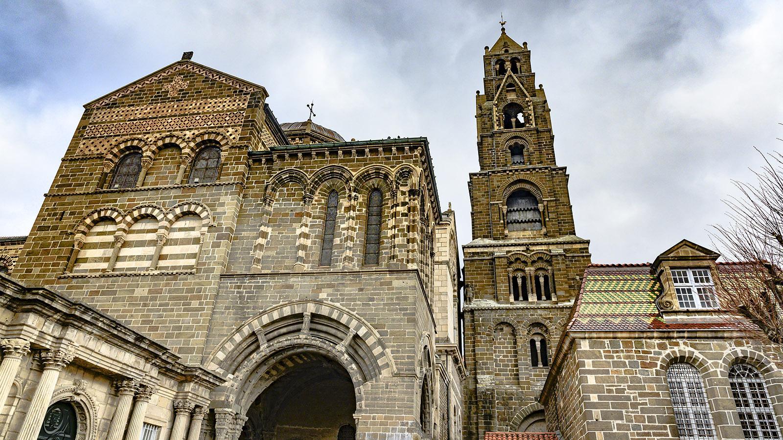 Die Kathedrale von Le Puy-en-Velay. Foto: Hilke Maunder