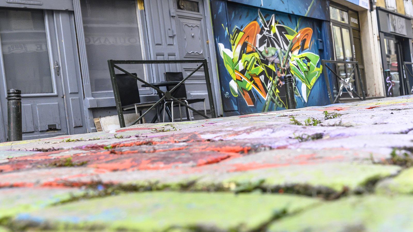 Street Art in Le Puy-en-Velay. Foto: Hilke Maunder