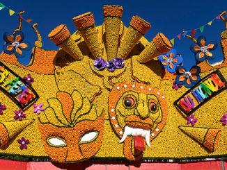 Das Motto der Fête du Citron 2020: die Feste der Welt. Foto: Hilke Maunder