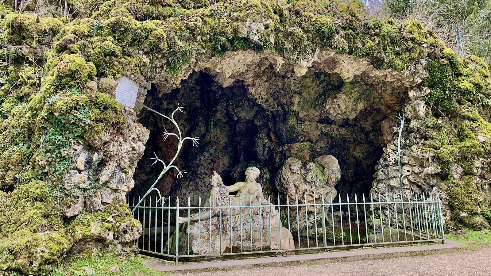Die Quelle der Seine in Burgund. Foto: Hilke Maunder