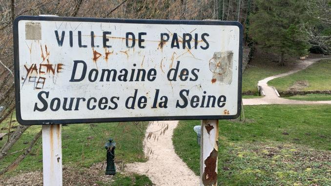 Der kleine Park der Seine-Quellen gehört zur Stadt Paris. Foto: Hilke Maunder