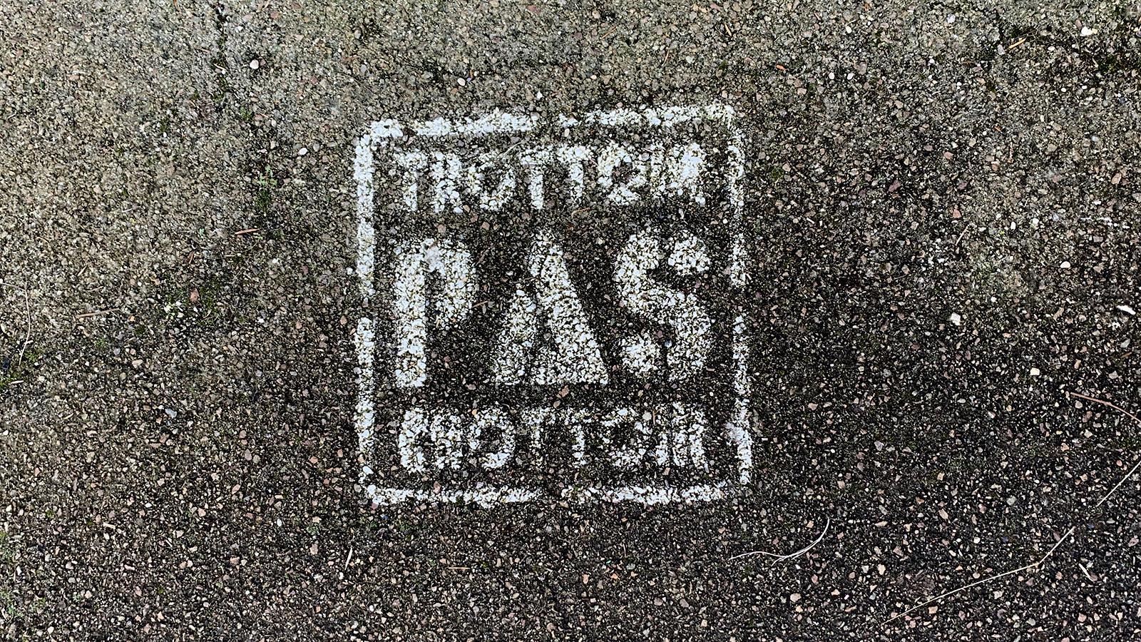 Crottes-Protest. Foto: Hilke Maunder