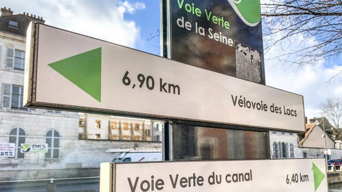 Troyes: Radwege an der Seine. Foto: Hilke Maunder
