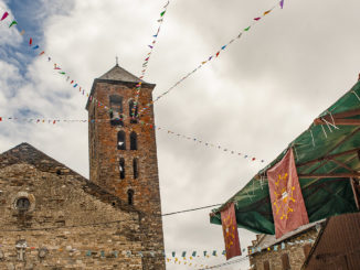 Val d'Aran: die Kirche von Vilamosa. Foto: Hilke Maunder