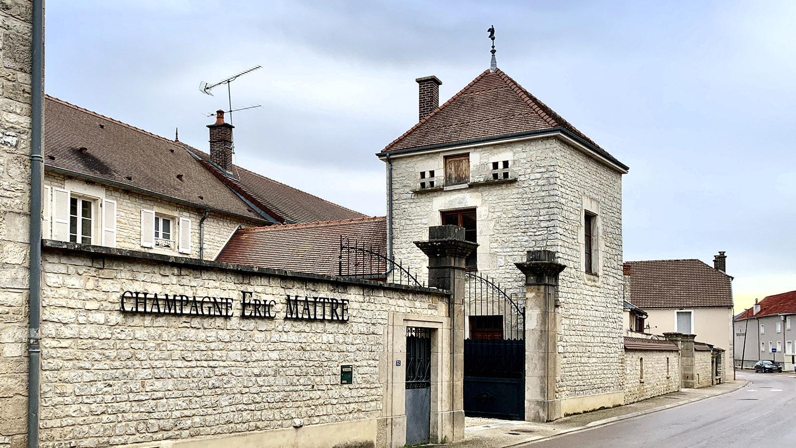 Côte des Bars: Champagnerhaus. Foto: Hilke Maunder