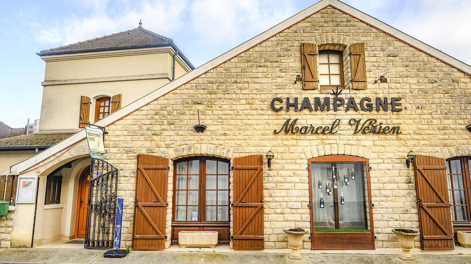 Côte des Bars: das Champagnerhaus Marcel Vézien in Celles-sur-Ource. Foto: Hilke Maunder