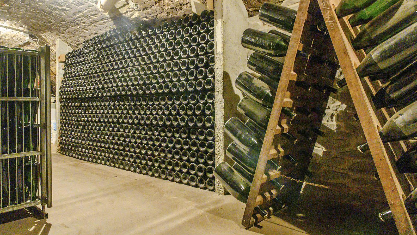 """Côte des Bars: Champagner """"sur pointe"""". Foto: Hilke Maunder"""