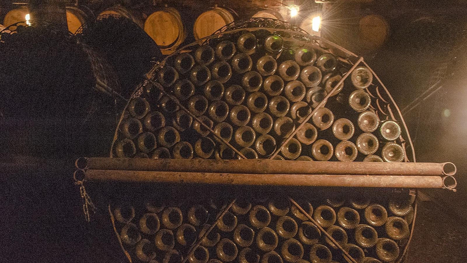 Saint-Puy, Château de Monluc: Hier lagert der Vin Sauvage. Foto: Hilke Maunder